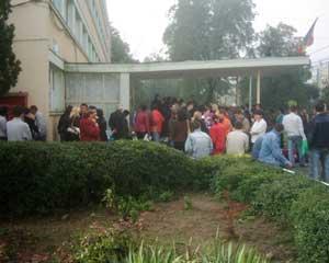 Studentii basarabeni nu vor sa plateasca taxa de cazare