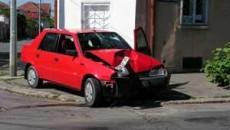 Dacia lui Bordu a fost avariata serios in urma impactului