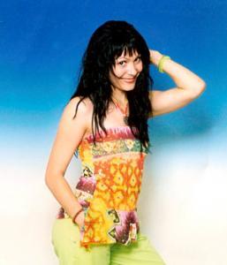Aurora Popescu, o frumoasa olteanca la Festivalul Mamaia