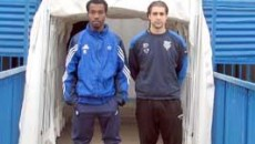 "Patrick Nguema si Jonathan Cafournelle s-au antrenat pe ""Municipal"""