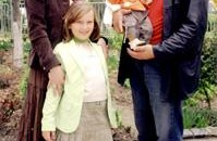 Florentina si Florian Popescu impreuna cu cei doi copii