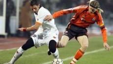 Meciurile din Liga Campionilor l-au facut cunoscut pe Tymosciuk (dreapta) in Europa