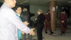 Nicolae Lungu si tatal sau i-au reprosat agentului de paza ca a folosit fara sa fie provocat spray-ul lacrimogen