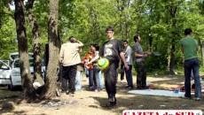 De 1 Mai, craiovenii s-au relaxat la un grătar pe malul Jiului sau la pădure