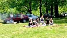 Târgujienii s-au relaxat în dumbrava de la Drăgoieni