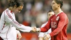 Cristiano Ronaldo (dreapta) şi Alessandro Nesta vor tranşa azi disputa locului în finală