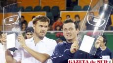 Andrei Pavel (dreapta) şi Alexander Waske au fost victorioşi
