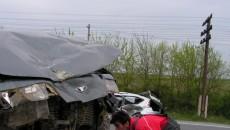 În accidentul de ieri, patru persoane au fost rănite