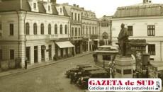 În 1936, statuia lui Cuza şi-a găsit un loc în faţa cinematografului Select