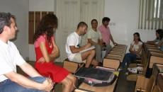 Zoltan Andras, solistul trupei Sarmalele Reci, i-a provocat pe tinerii craioveni la discuţii despre viaţă şi problemele lor