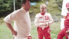 Nistor Duval (stânga) a ascultat cu atenţie sfaturile lui Philippe Bugalski