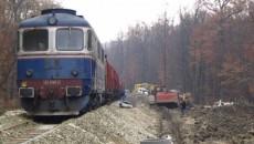 Traficul feroviar a fost întrerupt pentru câteva zeci de minute