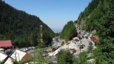 Transfăgărăşanul este unul dintre cele mai spectaculoase drumuri din România