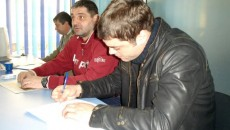 Gabi Stanciu (dreapta) speră să facă treabă bună la Energia