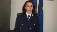 Subinspectorul Diana Smărăndoiu, purtătoarea de cuvânt a IPJ Vâlcea