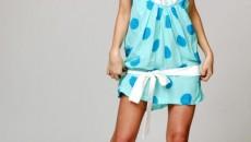 Rochiţele cu buline, la modă