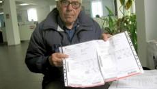 Ştefan Segărceanu, convins că a fost tras în piept cu factura