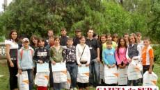 """Participanţii la concursul """"Click spre viitor"""" au primit premii şi diplome"""