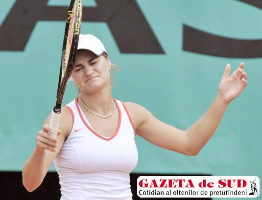 Monica Niculescu a părăsit competiţia din Australia