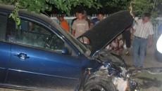 Unul dintre autoturismele implicate în accident