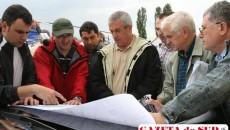 Premierul a vizitat barajul Stanca Costeşti