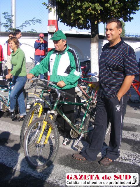 Gheorghe Fometescu, directorul APM Gorj, va merge la serviciu pe bicicletă