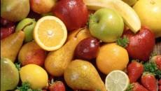 Fructele conţin mari cantităţi de vitamina C