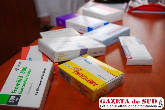 Antibioticele trebuie luate doar cu prescripţia medicului