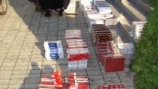 Jandarmii au confiscat 6.300 de pachete de ţigări de contrabandă
