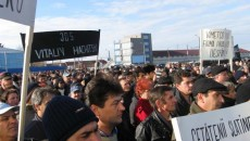Protestele de la Slatina au rămas fără ecou