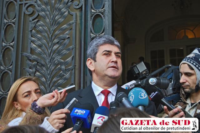 Ministrul de interne Gabriel Oprea