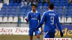Florin şi MIhai Costea au înscris cele trei goluri ale Universităţii