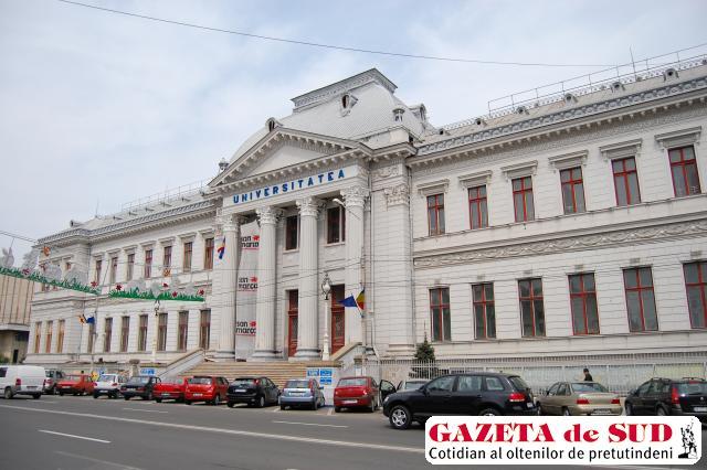 Oferta de şcolarizare la Universitatea din Craiova a scăzut faţă de anul trecut