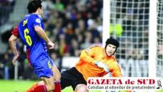 Cech s-a opus numeroaselor tentative ale catalanilor de a introduce mingea în plasă