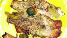 File de peşte cu varză de Bruxelles