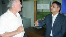 Cornel Panait (dreapta) şi Teodor Nuţă au avut un episod încins vineri-dimineaţă