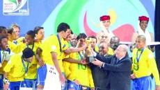 Naţionala Braziliei şi-a mai trecut un trofeu în palmares