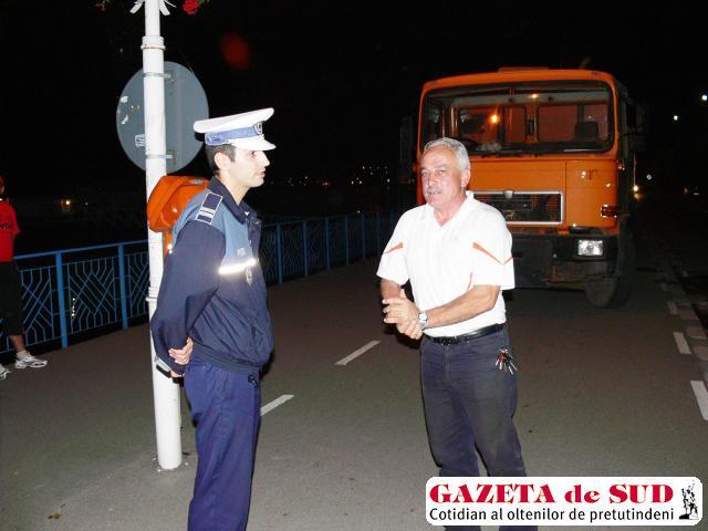 Primarul Brăgaru în tratative cu poliţiştii