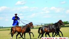 Maghiarii sunt faimoşi în toată Europa pentru demonstraţiile de călărie impresionante
