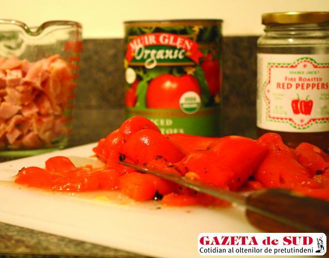 Gogoşari în sos tomat