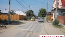 """Temă pentru """"deştepţi"""": evitarea şanţurilor de pe strada Alexandru cel Bun"""