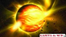 Nibiru, planeta care aruncă foc