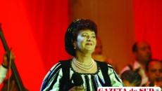 """Veta Biriş, în recital pe scena Festivalului """"Maria Tănase"""""""