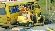 Buşe a provocat un accident în urma căruia două persoane au murit