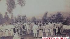 Tinerii petreceau, se prindeau în hore respectând vechile tradiţii