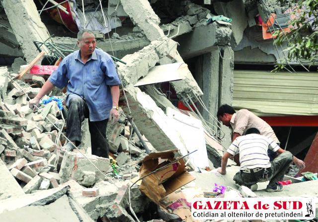 Consecinţele dezastruoase rămase în urma cutremurelor