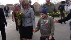 Maria Băsescu a vizitat căminele de bătrâni de la Dobriţa şi Suseni