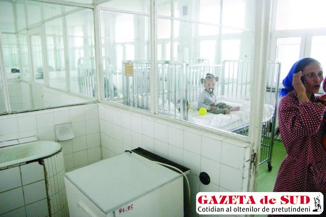 Pentru renovarea saloanelor cu copii bolnavi nu s-au găsit niciodată bani