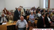 """25 de elevi ai CN """"Fraţii Buzeşti"""" s-au revăzut după 50 de ani de la absolvire"""