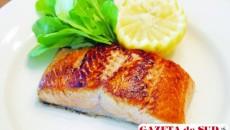 Somonul, una dintre cele mai bune surse de acizi graşi Omega 3 şi Omega 6